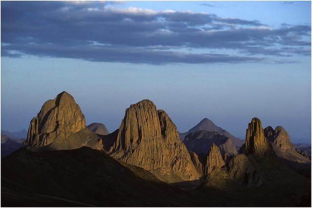 Hoggar Mountains  (kodachrome)