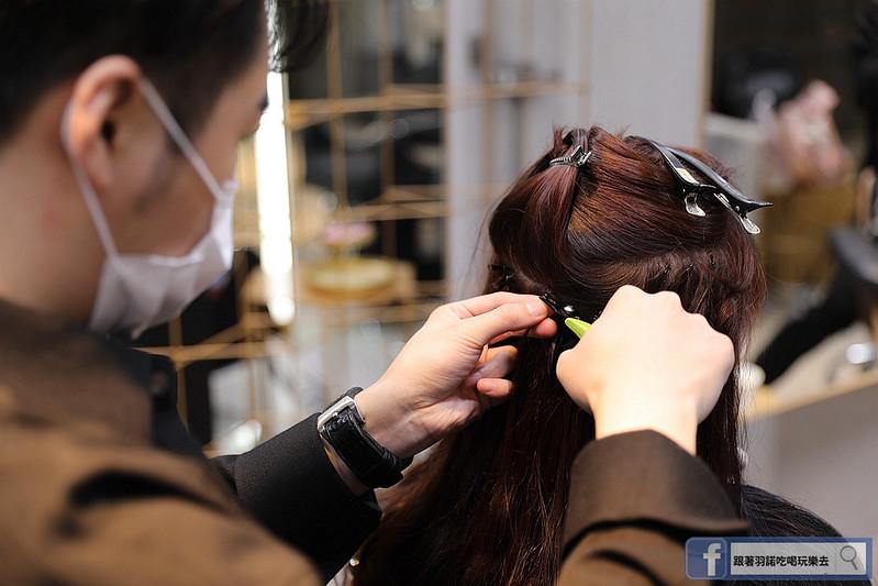 Lawrence Salon高具質感髮廊專業韓國接髮技術144