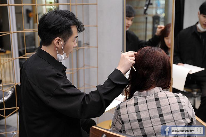 Lawrence Salon高具質感髮廊專業韓國接髮技術028