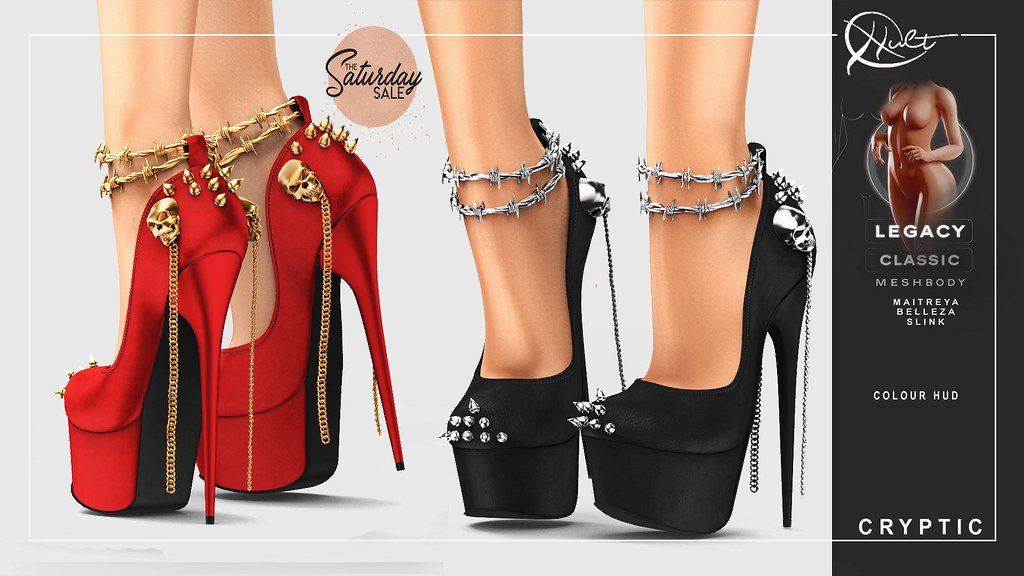 : CULT : Cryptic Heels with HUD