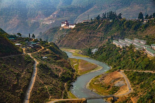 Wangdu Phodrang, Bhutan