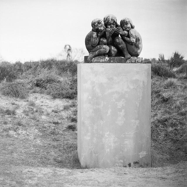 Rudolph Tegners skulpturpark, De tørstige Børn, 1914