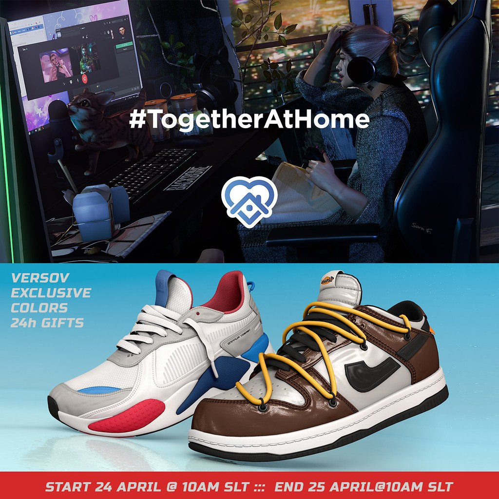 #TOGETHERATHOME HUNT AT VERSOV STORE ( GROUP GIFT 24H ONLY )