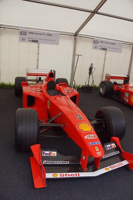 Ferrari F1-2002 3.0-litre V10 2000, Michael Schumacher at Fifty, Speed Kings, Motorsport's Record Breakers, Goodwood Festival of Speed (1)