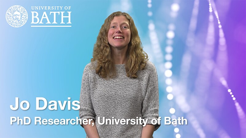 Photo of Jo Davies - a PhD student