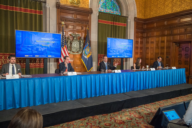 Governor Cuomo Holds Briefing on COVID-19 Response - 4/24