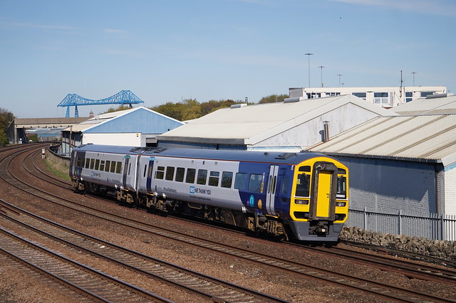 Northern Rail Class 158 Train (NHS We Thank You)