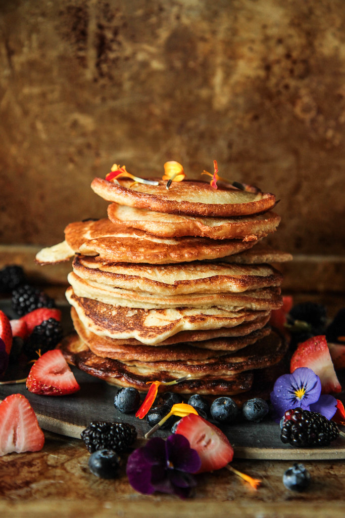 The Best Pancakes (Vegan and Gluten-free) from HeatherChristo.com