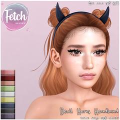 [Fetch] Devil Horns Headband - VIP Gift April 2020