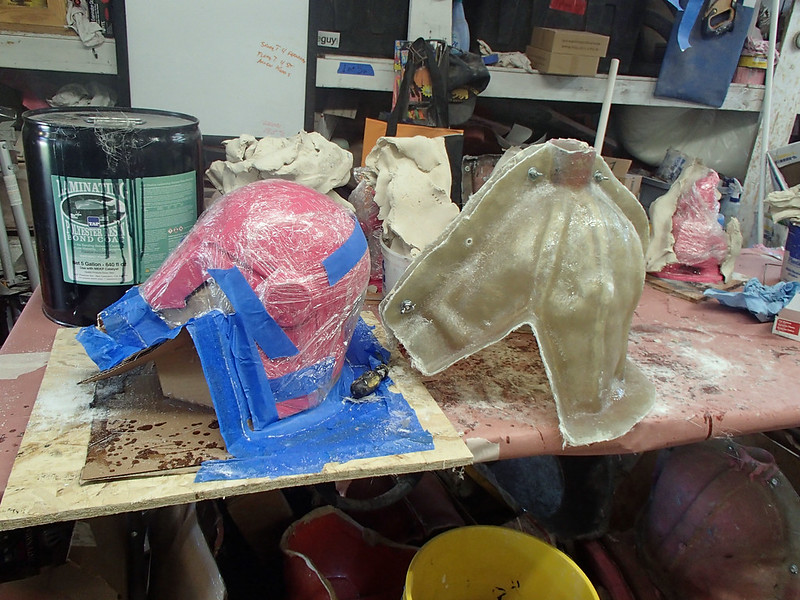 2nd Sister Helmet Mold Progress