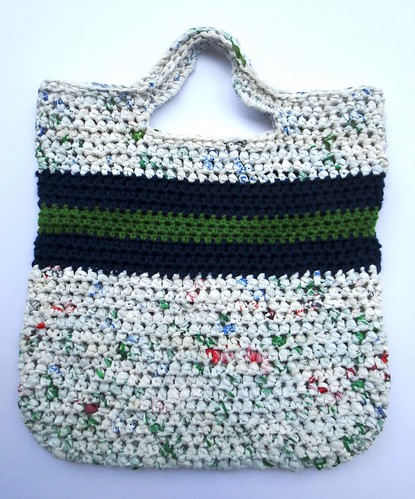 Recycled Seahawks Tote Bag