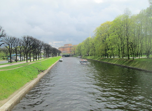 Moyka River, St Petersburg.