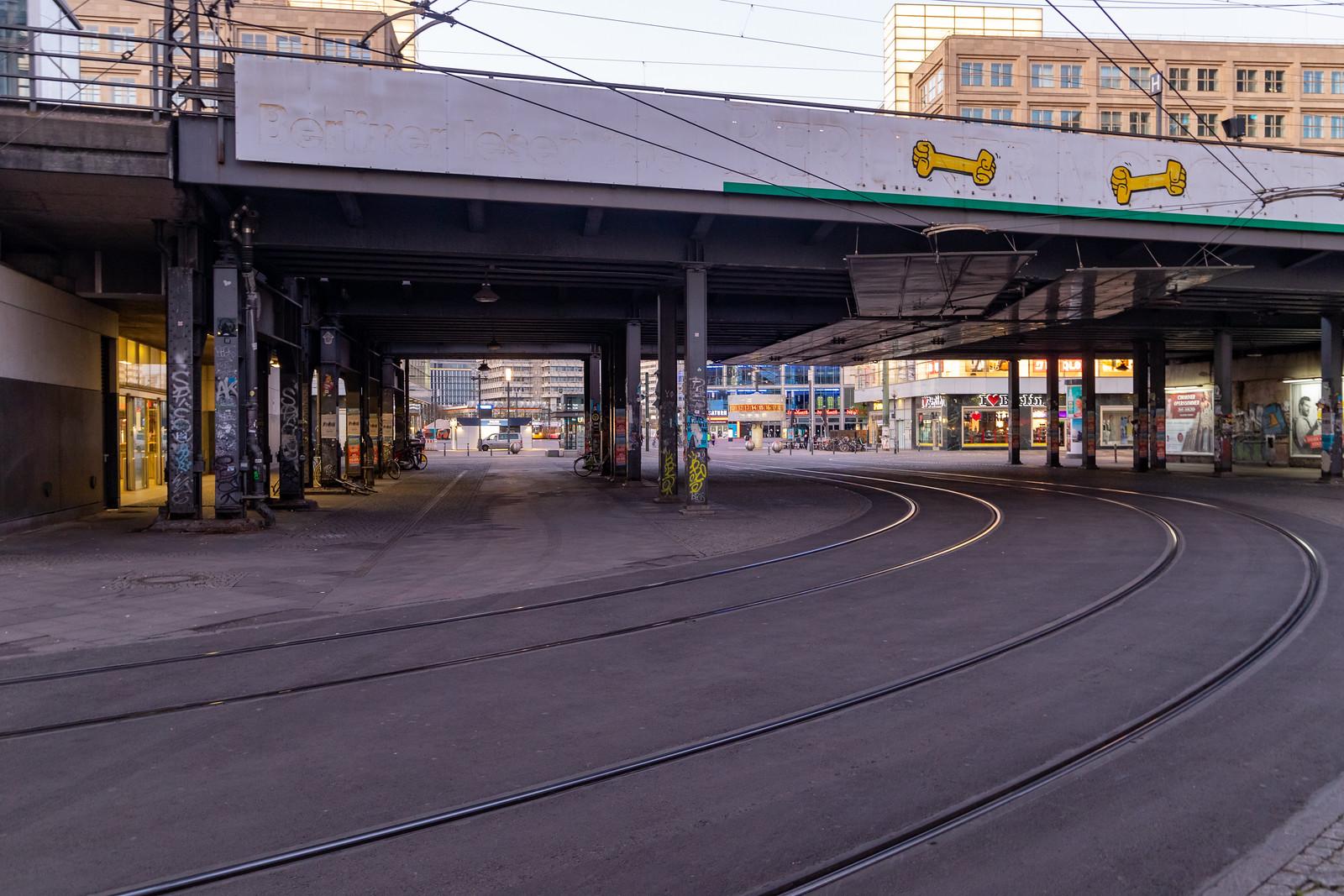 Stadtbahnbrücke am Alexanderplatz