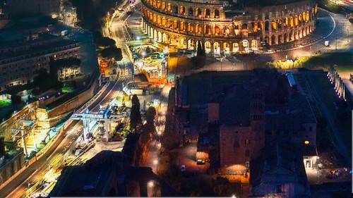 ROMA ARCHEOLOGIA E RESTAURO ARCHITETTURA. Aggiornare - Roma Metro C - Ecco le immagini del cantiere della stazione Colosseo-Fori Imperiali. Fonte / source: Virginia Raggi / Twitter & Salviamo la Metro C / Facebook (24/04/2020).