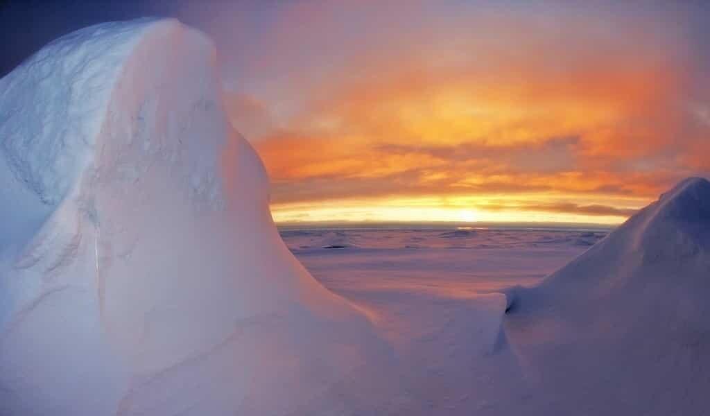 Des microplastiques dans la glace de mer de l'Antarctique