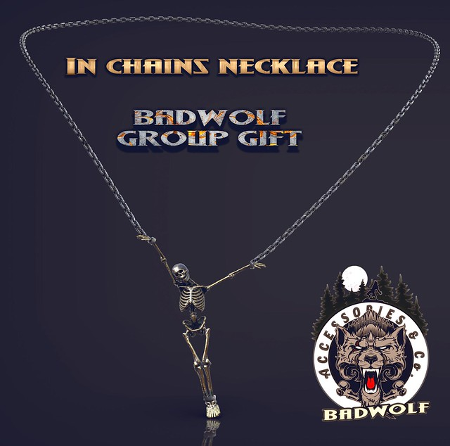 In Chains Necklace - Badwolf group Gift