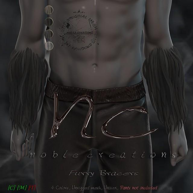 [NC] - Furry Bracers (Unisex)