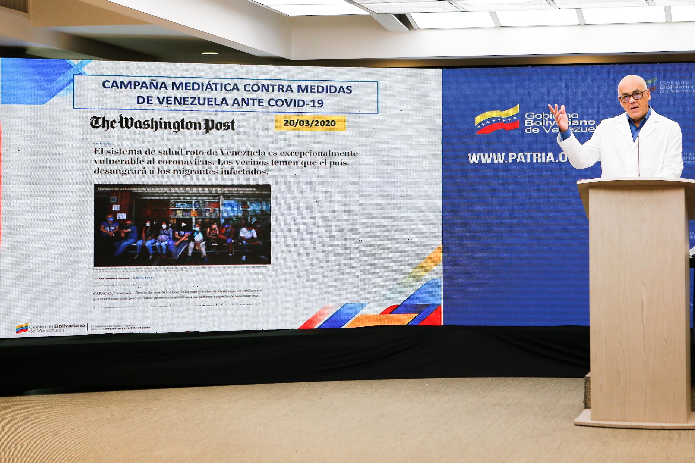 Guerra mediática persiste en siembra de mentiras contra Venezuela