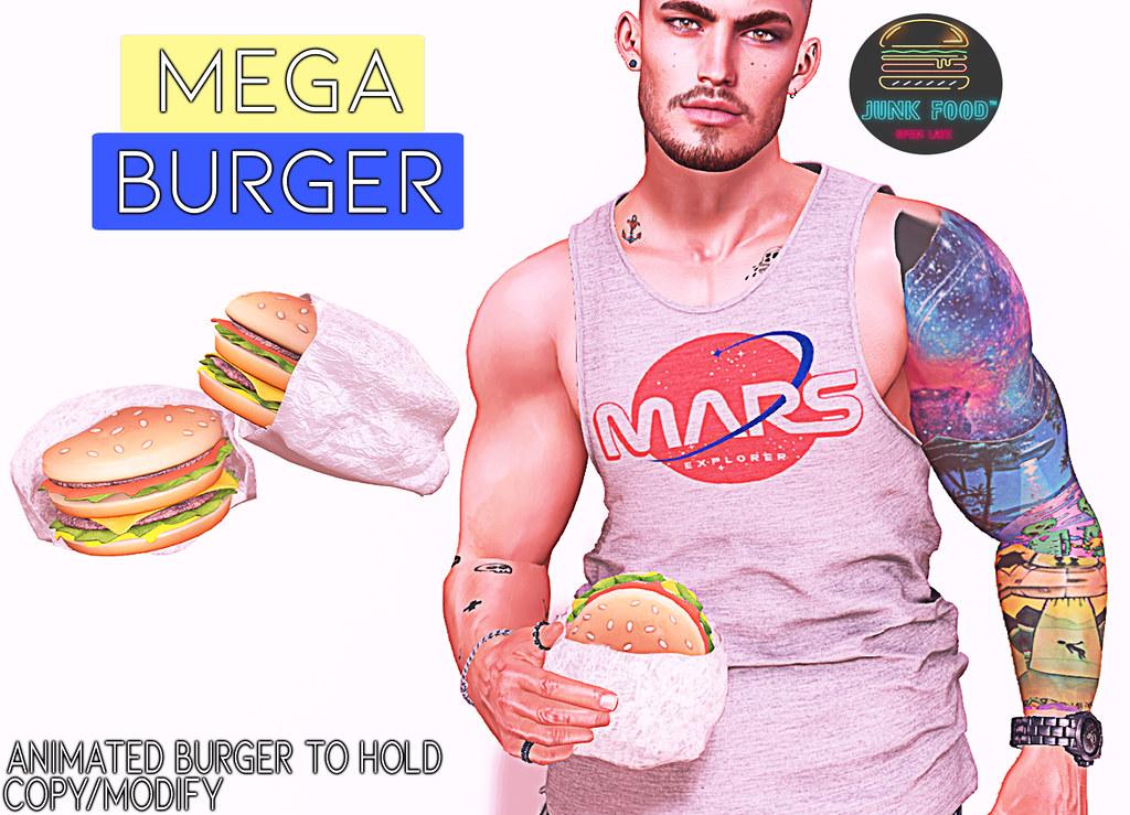 Junk Food – Mega Burger Ad