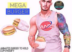 Junk Food - Mega Burger Ad