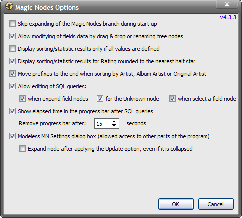MagicNodes-4.3.3 - Options