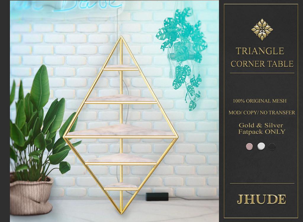Triangle Corner Shelf AD