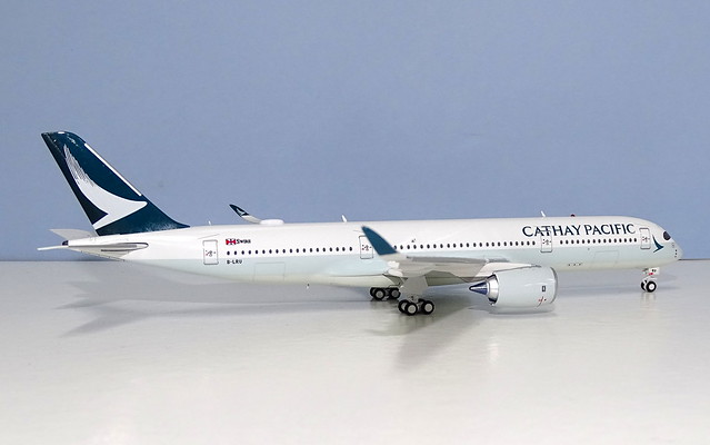 Cathay Pacific Airbus A350-900 B-LRU