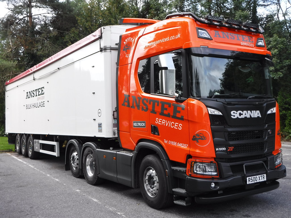 Charity auction of Scania XT R500 by Keltruck