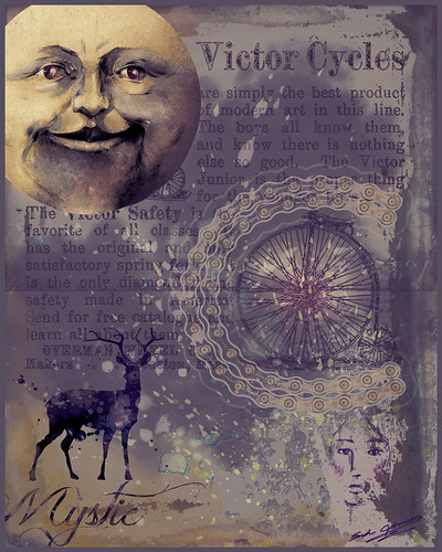 Image of Digital Art Journal showing the Man in the Moon
