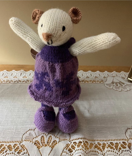 Dianne finished Miss Mouse for her sweet miss!