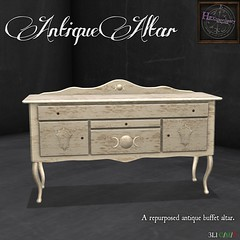 HEXtraordinary - Antique Altar @UBER