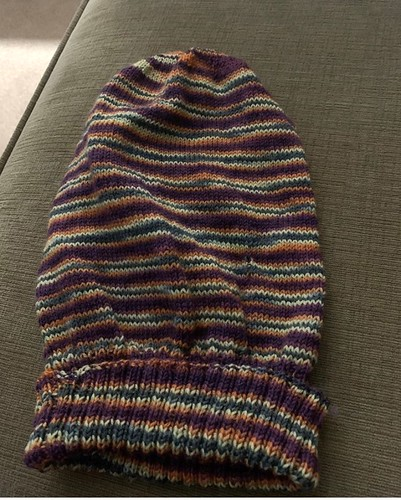 Dianne finished her Sockhead Hat!