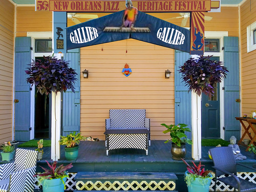 Gallier Stage. Festing In Place 2020