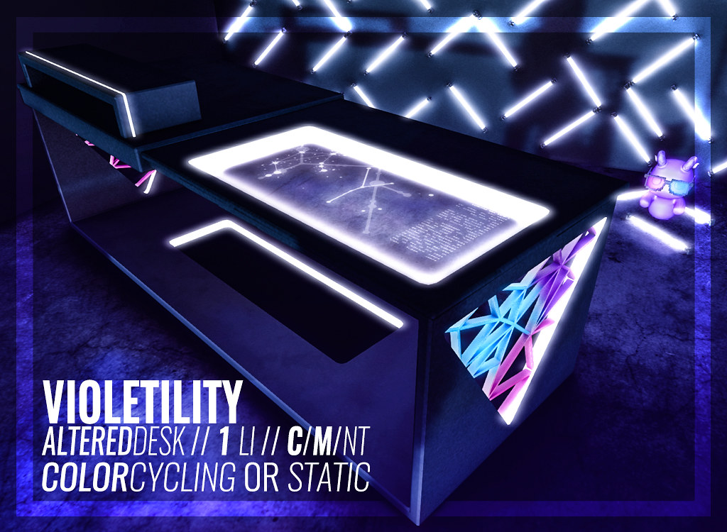Violetility – Altered Desk