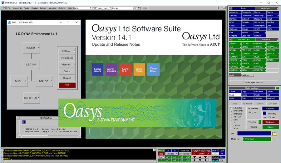 Oasys Software Suite 14.1 x64 full license forever