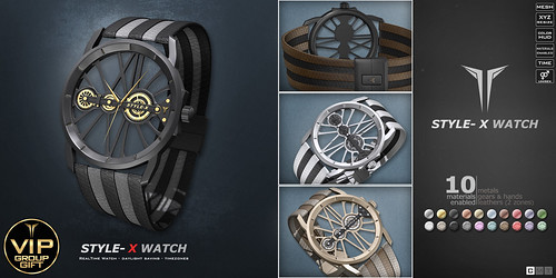 Style - X Watch VIP Group Gift