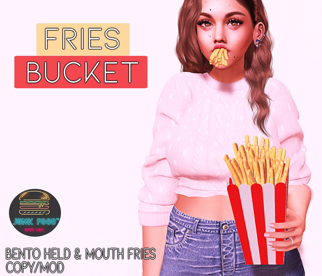 Junk Food – Fries Bucket Ad