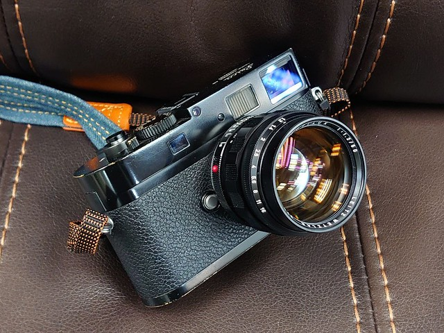 Leica noct 50mm f1.2 夜神之眼
