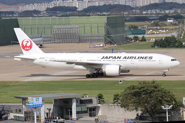 JA710J   -  Boeing 777-246ER  -  Japan Airlines  -  GMP/RKSS 06/10/19