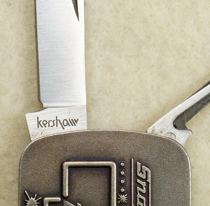 RD26030 Vintage Kershaw 6600DP Money Clip Knife Snap-on Tools Drivin Proud Truck DSC02953