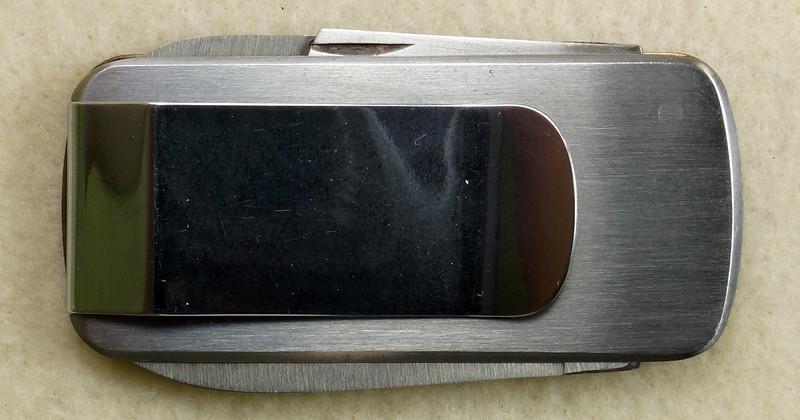 RD26030 Vintage Kershaw 6600DP Money Clip Knife Snap-on Tools Drivin Proud Truck DSC02949