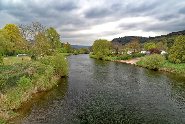 River Wye, Monmouth, Wales.