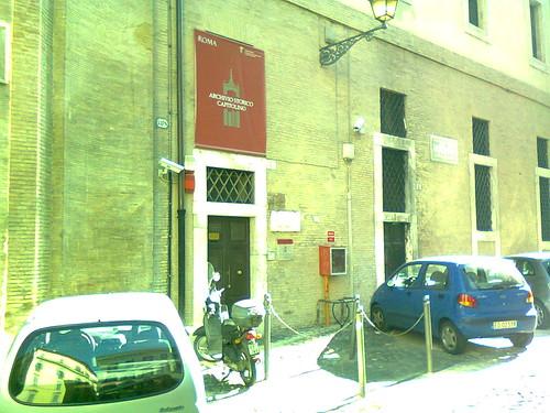 ROMA ARCHEOLOGIA E RESTAURO ARCHITETTURA. L'Archivio storico di Roma, che è un'eccellenza nel campo della conservazione e nell'accesso sia alla documentazione storica su Roma dal XIV secolo al Novecento. Virginia Raggi / Facebook (08/06/2018).