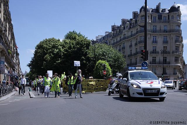 Acte 32 des Gilets jaunes ✔ Paris le 22 juin 2019 IMG190622_007_©2019   Fichier Flickr 1000x667Px Fichier d'impression 5610x3740Px-300dpi