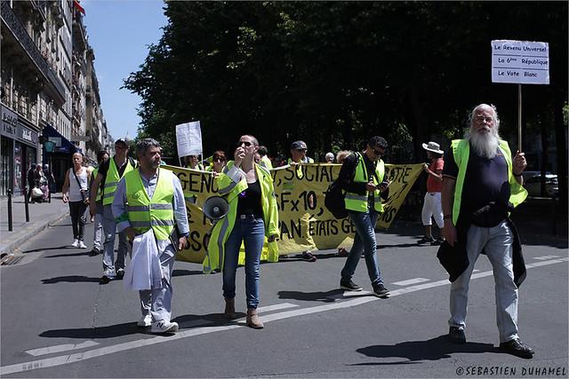Acte XXXII des Gilets jaunes ✔  Paris le 22 juin 2019 IMG190622_008_©2019   Fichier Flickr 1000x667Px Fichier d'impression 5610x3740Px-300dpi