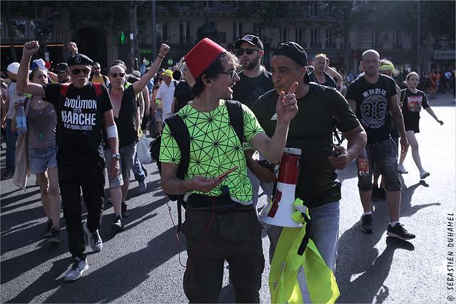 Acte XXXIII des Gilets jaunes ✔  Paris le 29 juin 2019 IMG190629_216_©2019 | Fichier Flickr 1000x667Px Fichier d'impression 5610x3740Px-300dpi