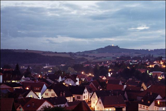 Steinsfurt in der Dämmerung