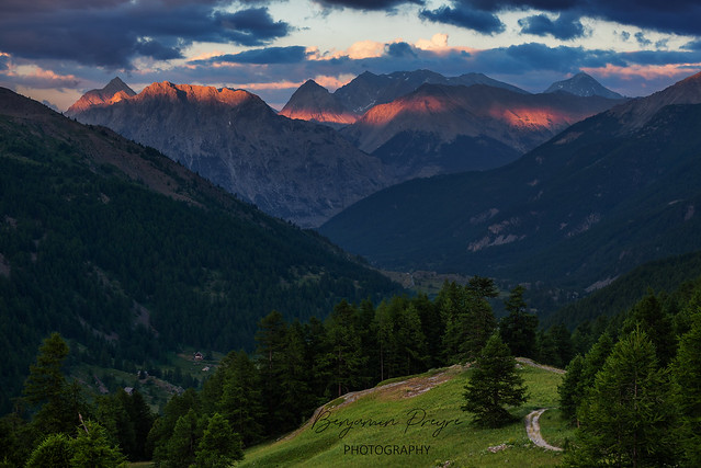 Sunset on the Summits