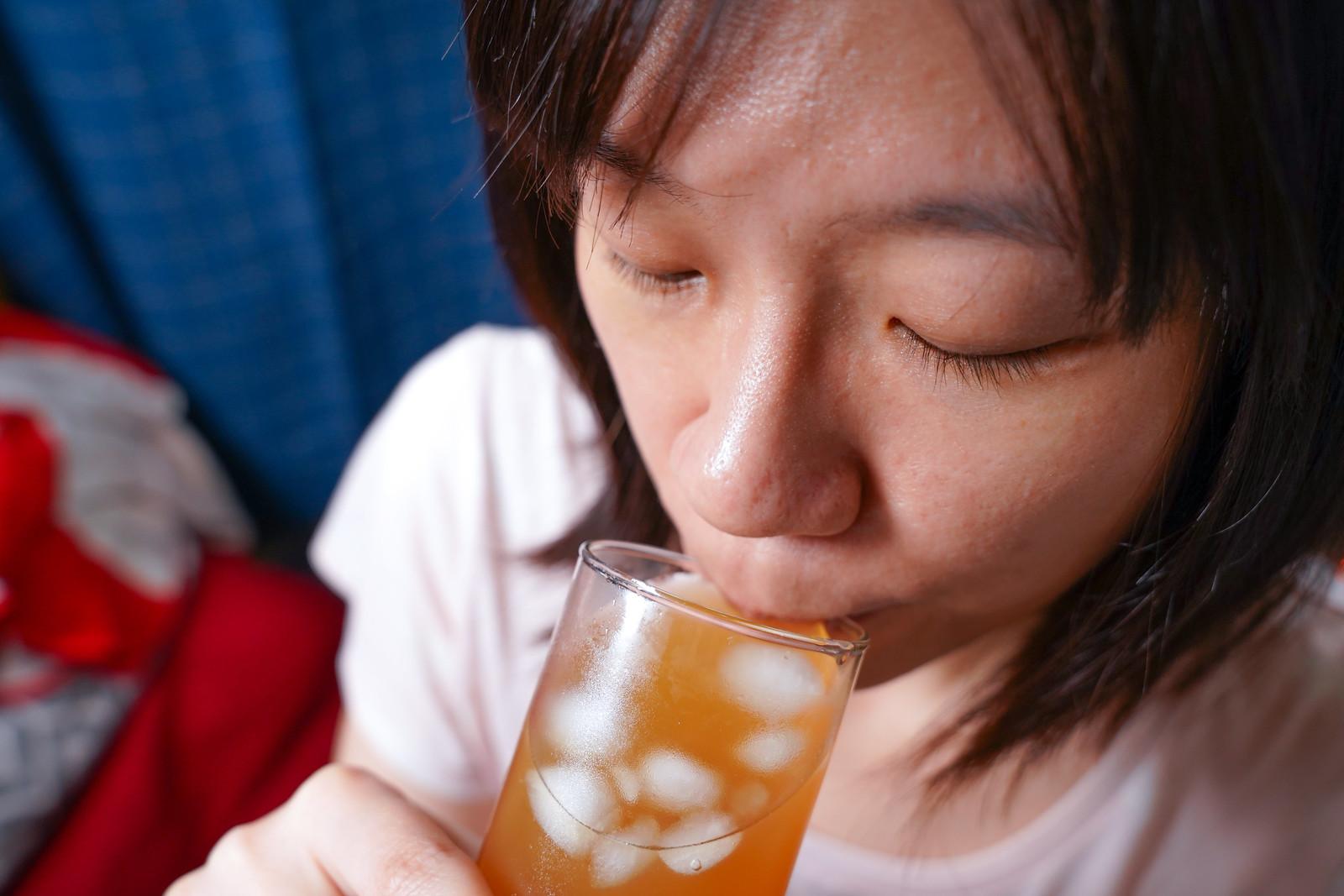 試喝蜂蜜檸檬紅茶