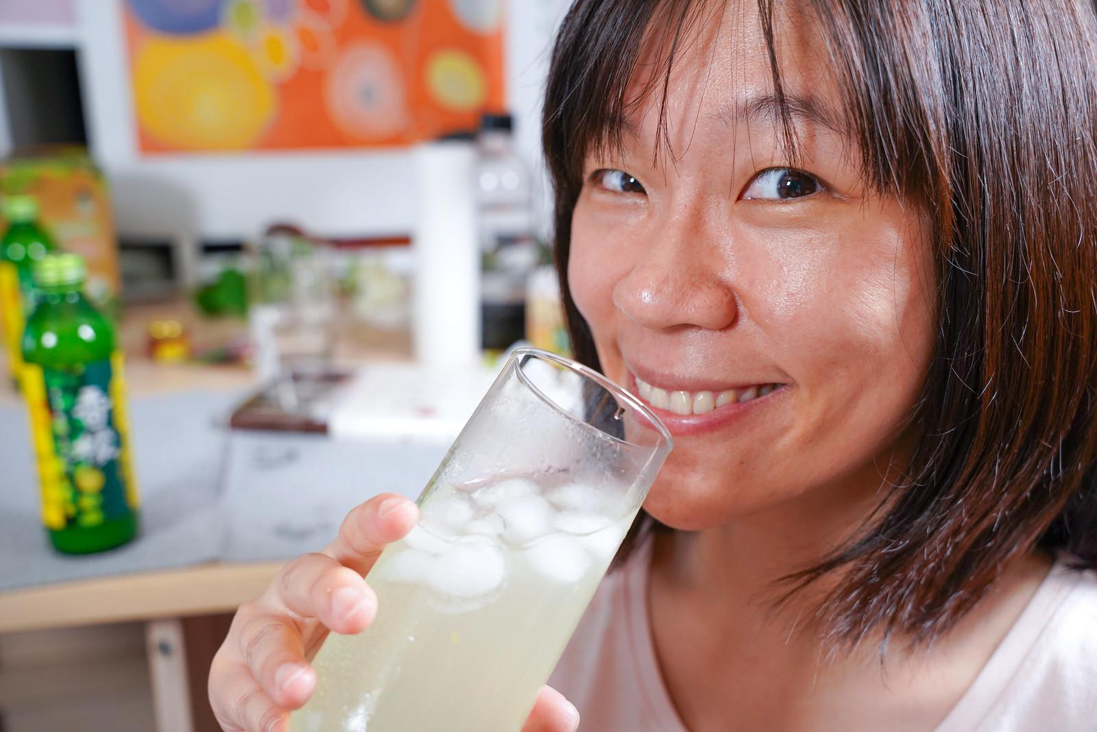 台灣好田-香檬原汁 試喝檸檬水
